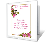 A Special Friend printable card