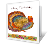 A Thanksgiving Wish printable card