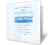 A Wonderful Son Like You greeting card