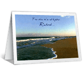 Always in My Heart greeting card