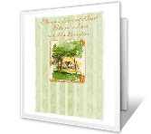 Always Your Little Girl greeting card
