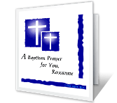 As You Are Baptized printable card