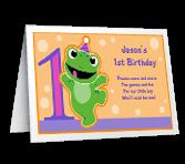 Baby Boy's 1st Birthday invitation
