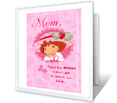 Berry Special Mom printable card