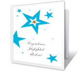 Best Wishes, Grad printable card