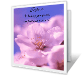 Better with Each Day greeting card