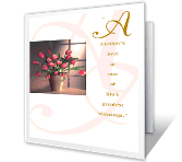 Blessings for Mother greeting card
