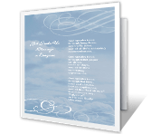 Blessings in Disguise greeting card