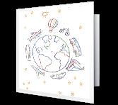 Bon Voyage printable card