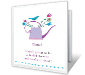 Bridal Shower printable card