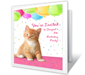 Celebrate Her Birthday printable card