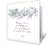 Celebrate the Wedding printable card