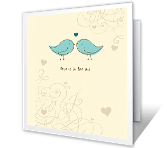 Celebrating Your Special Love printable card