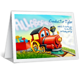 Choo-Choo-Choose to Join Us invitation