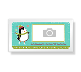 Christmas Hi 4 x 8 photo card printable card