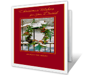 Christmas Wishes for You greeting card