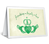 Claddagh Wishes printable card