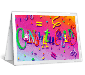 Congratulations printable card