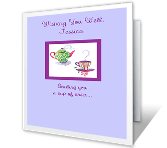 Cup of Get-Well Cheer greeting card