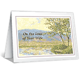 Deepest Sympathy on the Loss of Your Wife greeting card