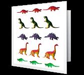 Dino-mite Birthday greeting card