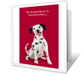 Dog-gone Special printable card