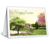 Easter Blessings printable card