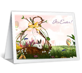 Easter Wishes printable card