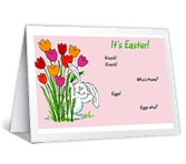 Egg-stra Big Wishes! printable card