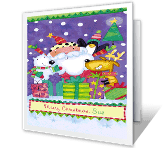 Enjoy Each Moment of the Season greeting card