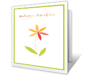 Everything Beautiful greeting card