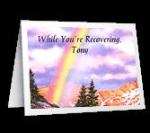 Feel Better greeting card