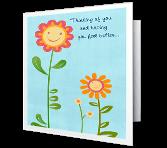 Feel Better x 3 greeting card