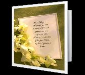 For a Dear Friend greeting card