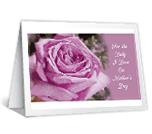 For the Lady I Love printable card