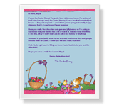From the Easter Bunny printable card