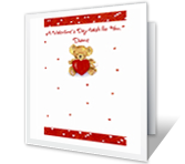From the Heart printable card