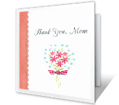From Your Son, Mom printable card