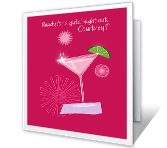Girls' Night Out printable card