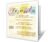 Glad To Call You My Friend printable card
