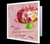 Glad We Work Together greeting card