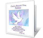 God Bless You printable card