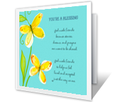 God Made Friends printable card