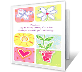 God's Healing Power greeting card