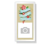 Greetings of the Season 4 x 8 Photo Card printable card