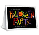 Halloween Party - Invitation printable card