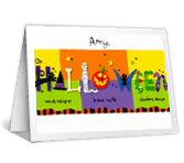 Halloween Thoughts printable card