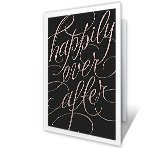 Happily Ever After printable card