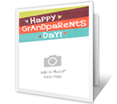 Happy Grandparents Day Add-a-Photo printable card
