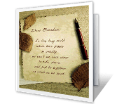 Happy Memories greeting card